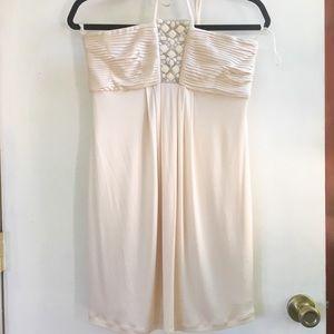 Ivory BCBG dress